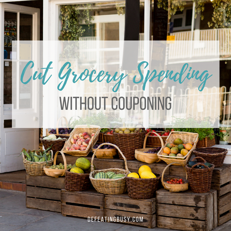 Cut Grocery Spending without Couponing