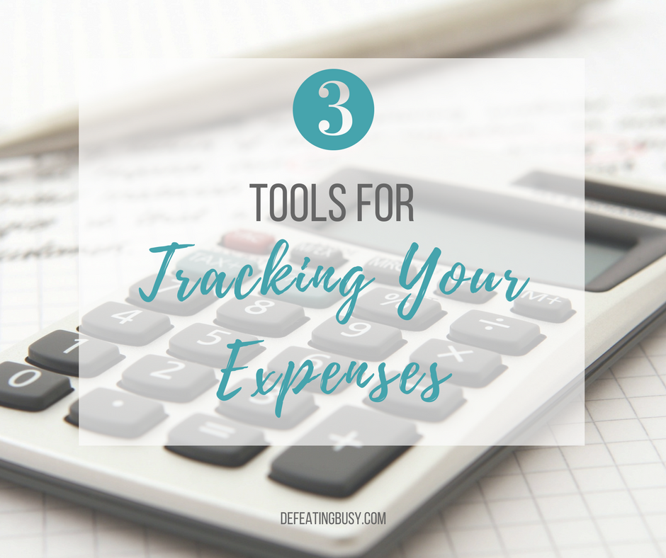 Show Me the Money: 3 Tools for Tracking Your Expenses