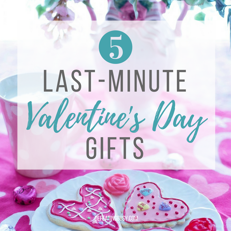 5 Last-Minute Valentine Gifts