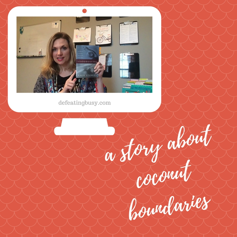 A Story about Coconut Boundaries