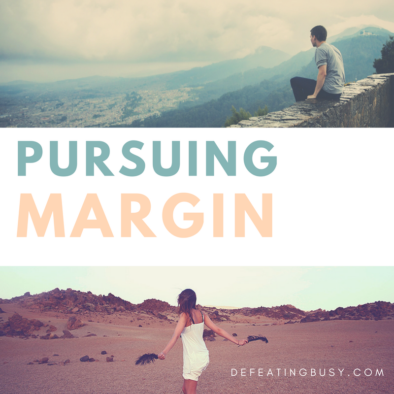 Pursuing Margin