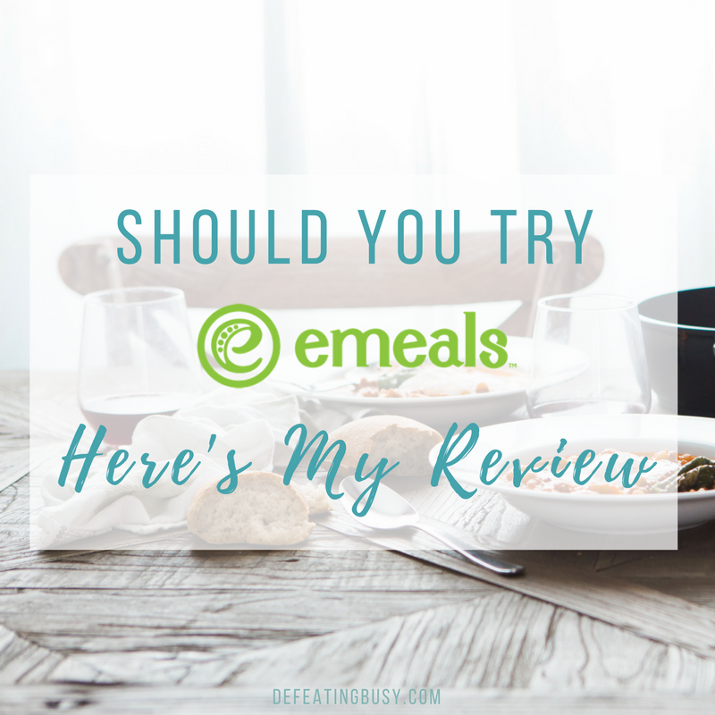 Should You Try eMeals? Here's My Review