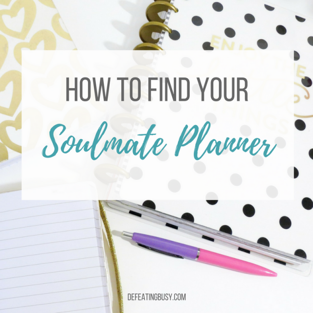How to Find Your Soulmate Planner