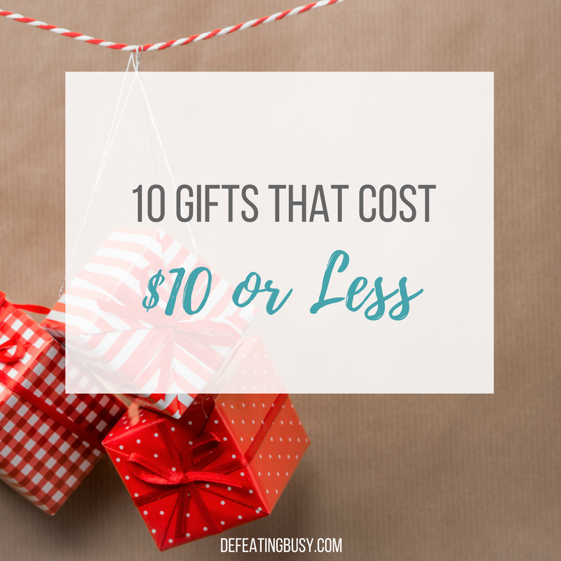 Ten Awesome $10 Gift Ideas