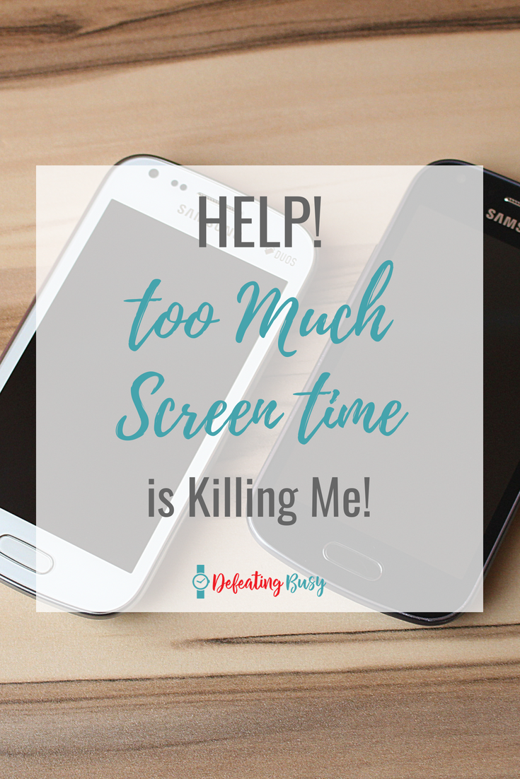 I can't be the only one who needs to limit or at least reduce their screen time, right? Here are a few good habits I'm starting to replace the bad habit of being on my phone 24/7. #defeatingbusy
